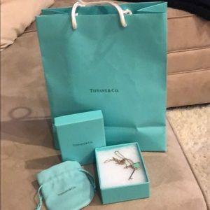Tiffany key necklace
